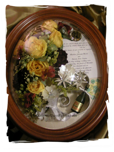Preserve flowers flower preservation wedding shadowbox ny nj ct ma freeze dried wedding bouquet ny preserved junglespirit Image collections