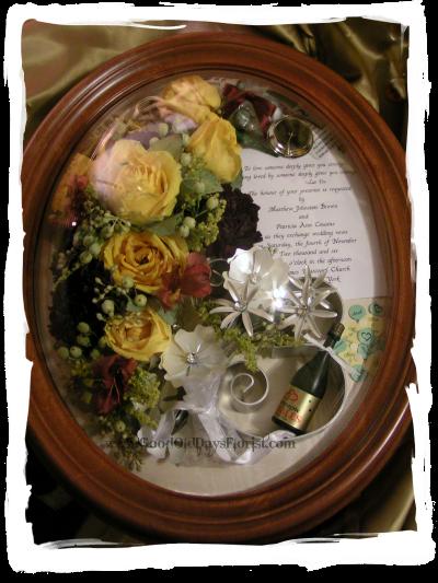 Preserve flowers flower preservation wedding shadowbox ny nj ct ma freeze dried wedding bouquet ny preserved junglespirit Gallery