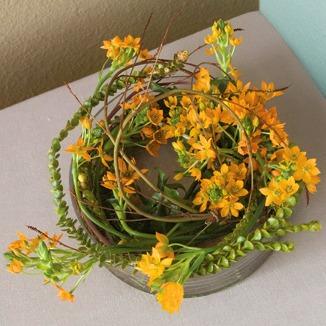 Table bowl wreath