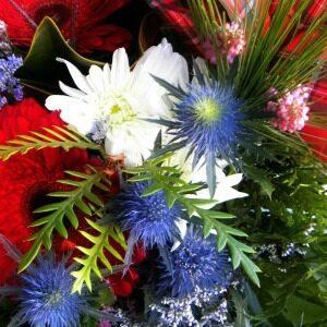 scottish flower bouquet