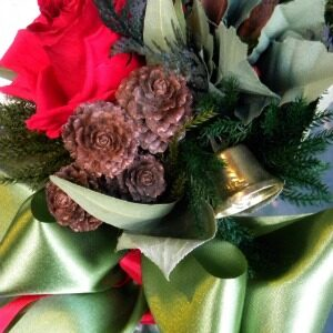 language of flowers christmas bouquet