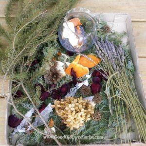 winter aromatherapy potpourri