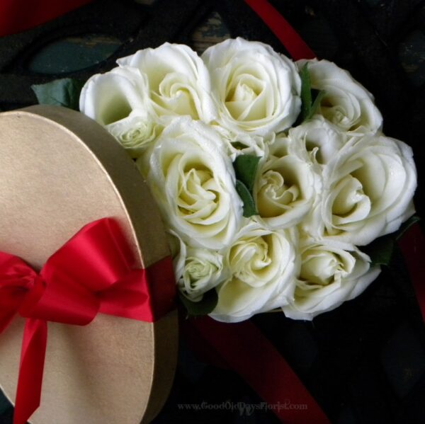 gift box of roses